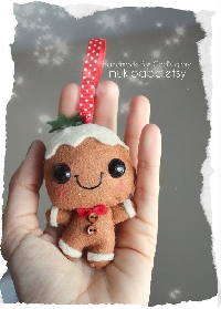 Cute gingerbread stuffie swap