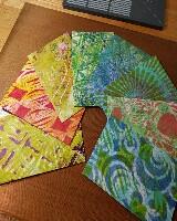 MAE: Gelli-print envelopes