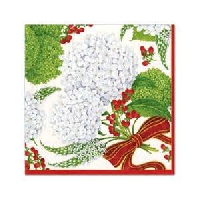 Holiday Napkins to Decoupage