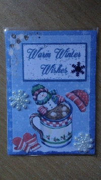 Warm Winter Wishes ATC