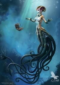 MLU: Mermaid Postcard