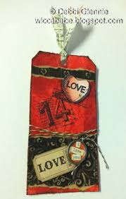 RM:  12 Months of Tags - Feb:  Red, Black, & White