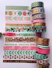 Washi tape samples