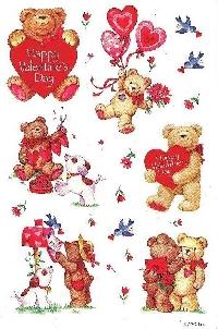 I love VALENTINE'S DAY stickers! Swap (USA)