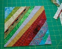FF:8.5 inch - (4)String quilt blocks #6