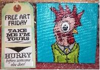 FREE ART FRIDAY - Art Abandonment Swap - USA
