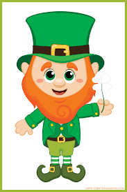 St. Patrick's Day Greeting Card 5 prts  - INTL New