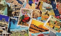P&M Happy Postcard swap