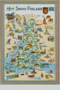 Send a Naked Map Postcard #8