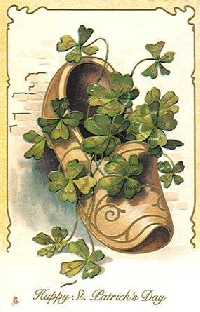 Mini Vintage St Patricks Day Pocket Letter.