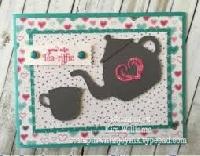 INTL Tea Themed ATC and Mail Art