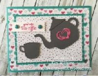 TEA themed ATC & Mail Art USA