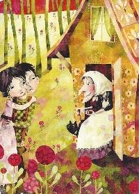 Children's Book Illustration Postcards #34