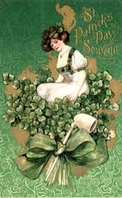 FTLOMPL - Vintage St Patrick's day Pocket Letter