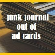 Journal out of ad cards