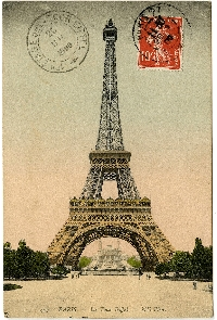 RJ - Vintage Rolo w/ the Eiffel Tower