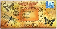 Stamped Mail Art