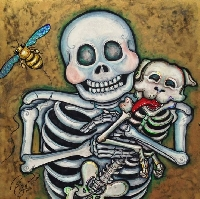 Inchies: Skulls & Skeletons