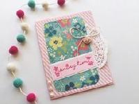 EUHS: Hello Spring handmade card