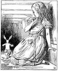 Alice in Wonderland (John Tenniel) ATC