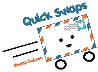 QUICK 5 postcard swap