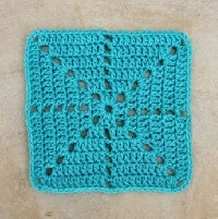 Acrylic Granny Square Swap- crochet (USA) #1