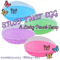 Stuff That Egg - A Lucky Parcel swap: Edited