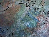 AI: Acrylic paint on craft paper