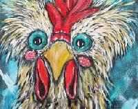 ATC: Wacky Chicken Drawing
