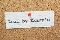 Lead by example - ATC