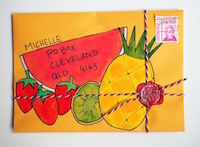 ISS: Mail Art #3 - Tropical