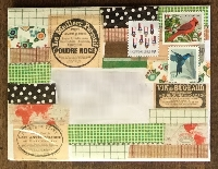 WTL: cover my envelope in washi