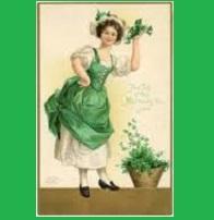 Vintage inspired St. Patrick's Day profile
