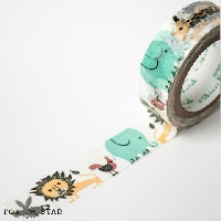 IWTS:  Animal Theme Washi Tape
