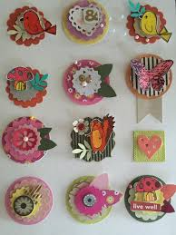 Scrapbook layout embellishments