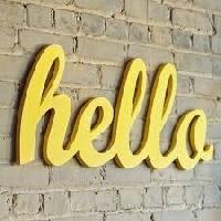 Hello...Yellow!  (send 2)