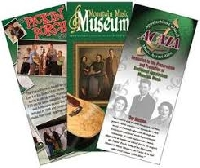 MUSEUM POSTCARD & BROCHURE SWAP - APRIL