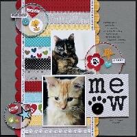Cat Travelling Scrapbook - Round 2
