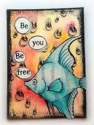 Fish ATC and Mail Art