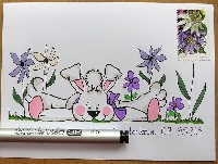 AAMA: Easter Mail Art Swap
