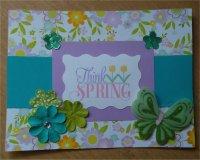 Handmade Spring Card