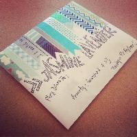 MAE: Washi-decorated envies