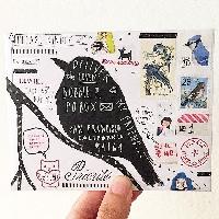 WIYM:  Match-a-Stamp Mail Art #5