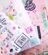 Girly Happy Mail - USA