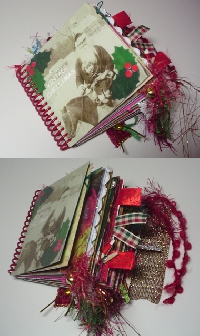 Chunky Book Page - Free themed Swap