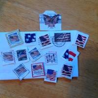 Patriotic Stamp ATC