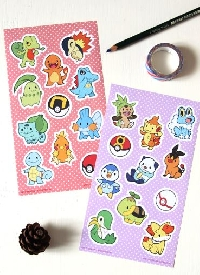 5 sticker sheets Swap (International)