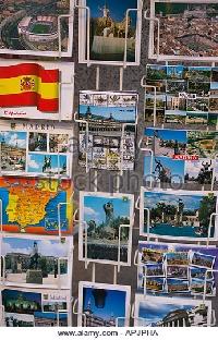 Touristy Postcard Swap USA #1