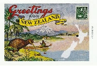 Country Name Postcard #2
