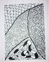 Zentangle & Pass PC #2 - US ONLY
